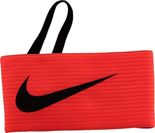 Nike Fussball Arm Band 2.0 Kapitänsbinde, Orange (Total Crimson/Black), One Size