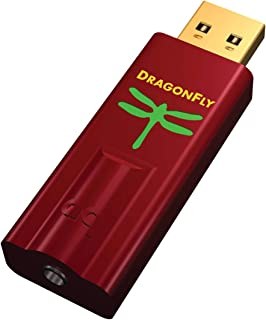 AudioQuest Dragonfly DAC USB Digital Audio Converter - Red