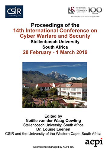 ICCWS 2019 Proceedings