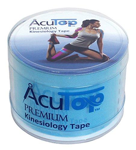 AcuTop Premium Kinesiology Tape, 5 cm x 5 m, blau