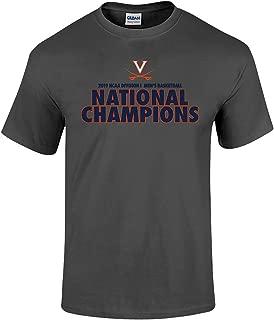 Elite Fan Shop Virginia Cavaliers National Basketball Champions Tshirt 2019 Bold Charcoal