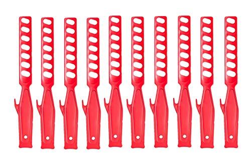 BFG 10er-Set I 28 cm Handrührer für Farbe I Rührstab I Kunststoffpaddel I Handmixer