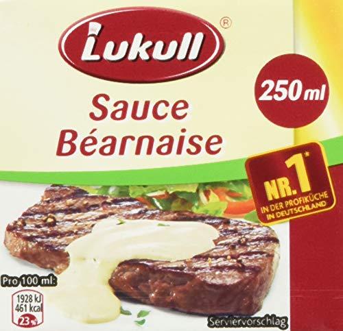 Lukull Servierfertige Béarnaise Sauce , 6er pack (6 x 250 ml)
