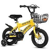 JG Bicicletas For Niños, 12 Pulgadas, 14 Pulgadas, 16 Pulgadas, 18 Pulgadas, 20 Pulgadas, Bicicletas Individuales De Disco De Velocidad For Niños Y Niñas, 4 Colores (Color : D, Size : 12inch)