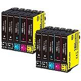 PayForLess 18XL Cartuchos de Tinta Reemplazo para Epson 18 18 XL Compatible con Epson Expression Home XP322 XP215 XP205 XP225 XP305 XP325 XP422 XP405 XP415 XP425 XP315 XP312