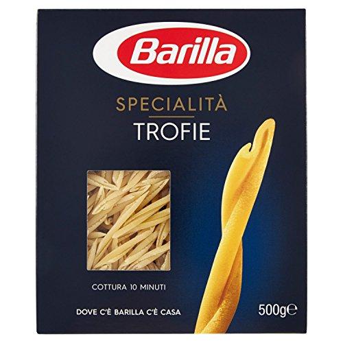 Barilla Pasta Trofie, Pasta Corta di Semola di Grano Duro, Specialità, 500 g