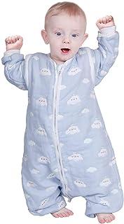 Lictin Saco de Dormir para Bebés-Saco de Dormir para Bebés con Mangas Extraíbles para Bebés Niños de 1-3 años de 75 a 95 c...
