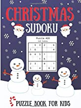 Christmas Sudoku for Kids: Hours of Fun and Challenging Sudoku for Kids Beginners/ Large 8.5 x 11 inches/ Christmas Theme