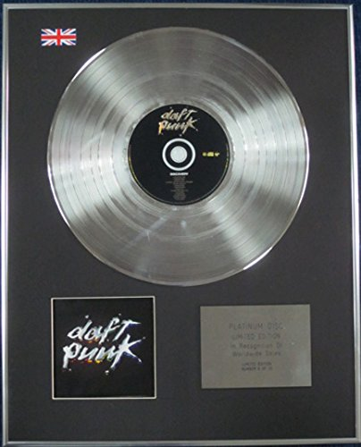 Century Music Awards DAFT PUNK - Edizione limitata CD Platinum Disc - DISCOVERY