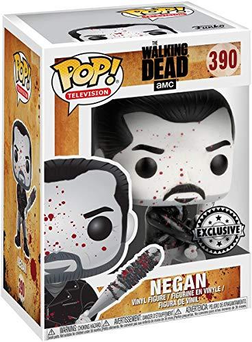 Funko- The Walking Dead-Negan B/W Figurina, Multicolore, 22498