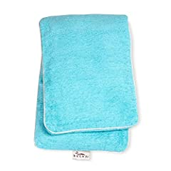 """Wrap yourself in comfort - Hot/cold body wrap is 7.25x25"""" In size, perfect for men and women Materials & Care - Cover: 54% rayon 29% polyester 17% Cotton, liner: 100% cotton, Filling: 100% buckwheat, remove cover and empty liner before washing, machi..."""