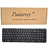 Padarsey Keyboard with Frame Compatible for HP Pavilion 15E 15N 15T 15-N 15-E 15-E000 15-N000 15-N100 15T-E000 15T-N100 15-e087sr 708168-001 710248-001 719853-001 749658-001 Series Black US Layout