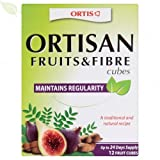(3 PACK) - Ortis - Ortis Fruits And Fibre Cubes | 12 Cubes box | 3 PACK BUNDLE