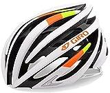 Giro Aeon Road Helmet (Matte White Lime/Flame, Small)