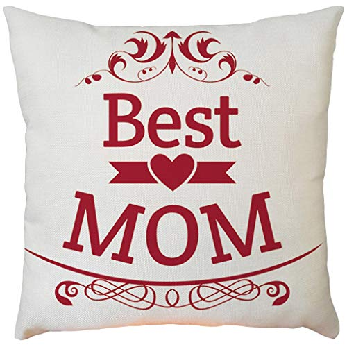Why Choose EOWEO Happy Mother's Day Sofa Bed Home Decoration Festival Pillow Case Cushion Cover(43cm...