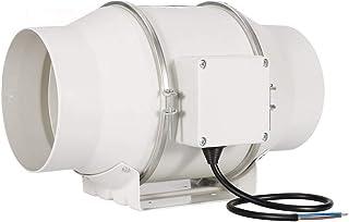 Hon&Guan Ventilador Extractor de Aire en Línea con con