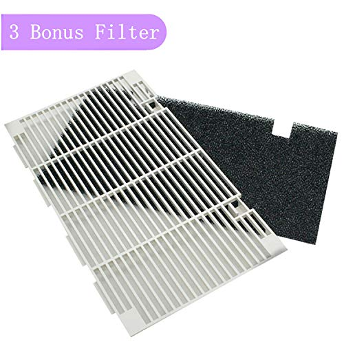 JOJOMARK RV A/C Ducted Air Grille for 3104928.019, Replace Air Conditioner Grill with 3 Filter Pad Accessories