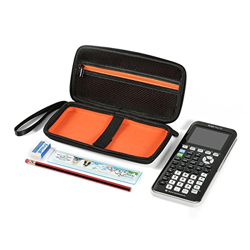 Faylapa Carrying Case Storage Travel Bag for Graphing Calculator Texas Instruments TI-83 Plus TI-84 Plus CE TI-89 Protective Pouch Black Photo #6