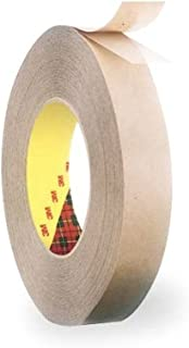 3M Scotch 924 Adhesive Transfer Tape, 1/2 inch X 60 Yards, Clear (465 Bulk)