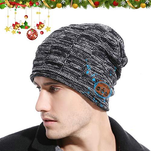 JYPS Beanie Hat con Bluetooth V5.0, Sombreros de Invierno inalámbricos Auriculares para...