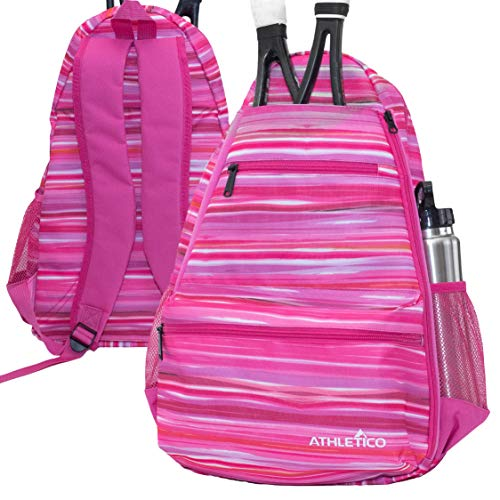 Athletico Compact City Tennis Backpack (Pink)