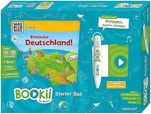 BOOKii tarterset was IST was Junior Entdecke Deutschland   BOOKii er H tift mit Aufnahmefunktion und BOOKii as IST was Junior Buch Entdecke Deutschland