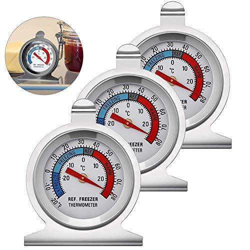 Termometro Frigorifico,Termometro Cerveza,Termómetro para Refrigerador,Termómetro para Congelador,Termómetro de Temperatura,Termómetros de Nevera