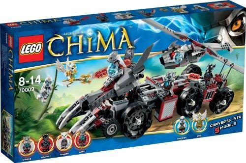 LEGO Legends of Chima 70009 - Worriz Großer Wolfstruck