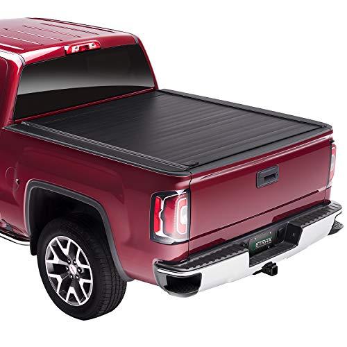 """RETRAX RetraxPRO MX Retractable Truck Bed Tonneau Cover   80461   Fits 2014-2018, 19 Ltd/Lgcy Chevy Silverado & GMC Sierra 1500, & 2500/3500 (15-19) 5' 9"""" Bed (69.3"""")"""