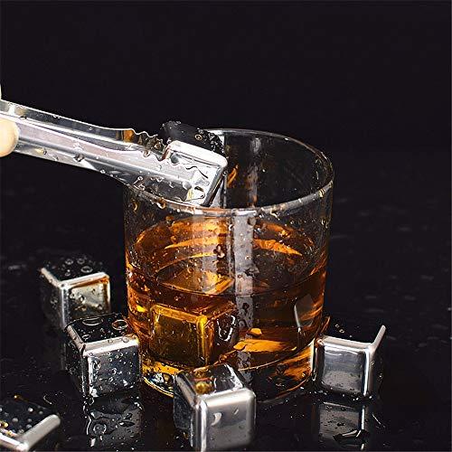 LiChaoWen Beste whisky koelstenen RVS IJs Bevroren IJs Wijn IJs Steen RVS Drank Liefhebbers Van Alle Leeftijden