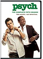 Psych: The Complete Fifth Season [DVD] [Import]