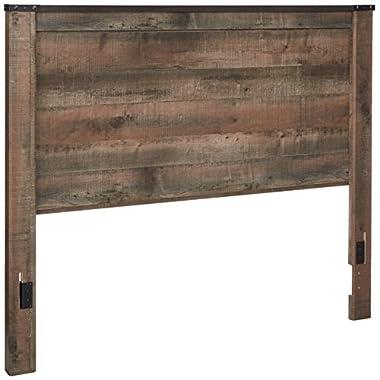Ashley Furniture Signature Design - Trinell Queen Panel Headboard - Component Piece - Brown