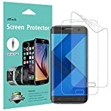 JETech Schutzfolie für Samsung Galaxy S7 Edge, TPE HD Bildschirmschutzfolie, 2 Stück