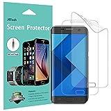 JETech Protector de Pantalla para Samsung Galaxy S7 Edge, Cubierta Completa, Transparentes, 2 Unidades