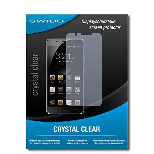 SWIDO Bildschirmschutzfolie für Blackview P2 Lite [3 Stück] Kristall-Klar, Extrem Kratzfest, Schutz vor Öl, Staub & Kratzer/Glasfolie, Bildschirmschutz, Schutzfolie, Panzerfolie