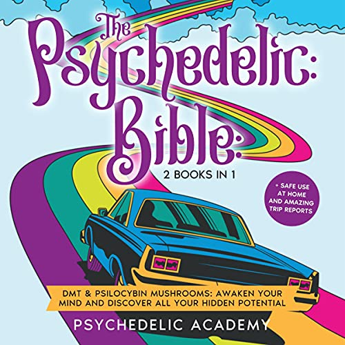 The Psychedelic Bible: 2 Books in 1 cover art