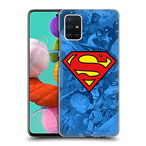 Head Case Designs Officially Licensed Superman DC Comics Collage Comicbook Art Hard Back Case Compatible with Samsung Galaxy A51 (2019)
