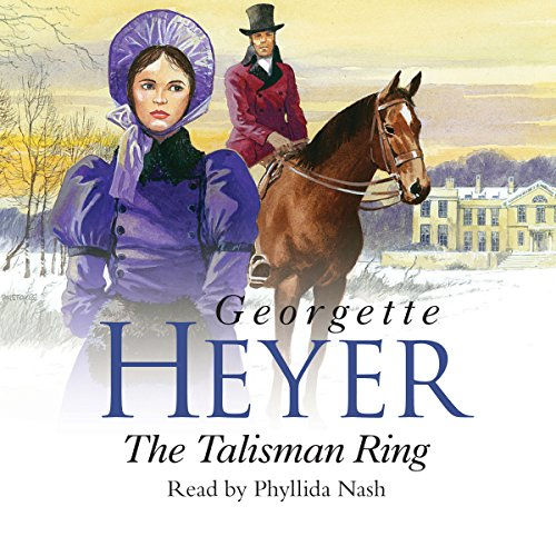The Talisman Ring audiobook cover art