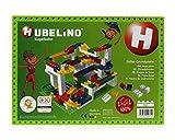 Hubelino- Grundplatte 560 Noppen Circuito de Bolas, Color Verde (420312)