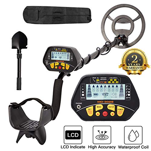 Find Discount Dnyker Metal Detector High Accuracy Adjustable Waterproof LCD Display Gold Metal Detec...