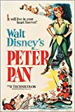 "Vintage Filmplakat ""Peter Pan"" (RKO 1953), 61 x 91 cm"