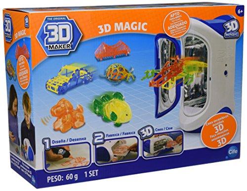 Cife Irwin RX Ltd 40104 - Stampante Magica 3D, Gioco Creativo