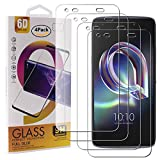 Guran 4 Paquete Cristal Templado Protector de Pantalla para Alcatel Idol 5S Smartphone 9H Dureza Anti-Ara?azos Alta Definicion Transparente Película