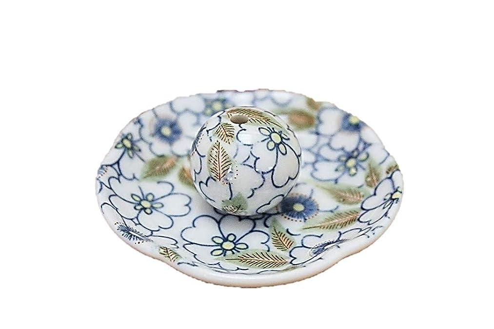受け入れる加速度うそつき藍華柳 花形香皿 お香立て お香たて 日本製 ACSWEBSHOPオリジナル