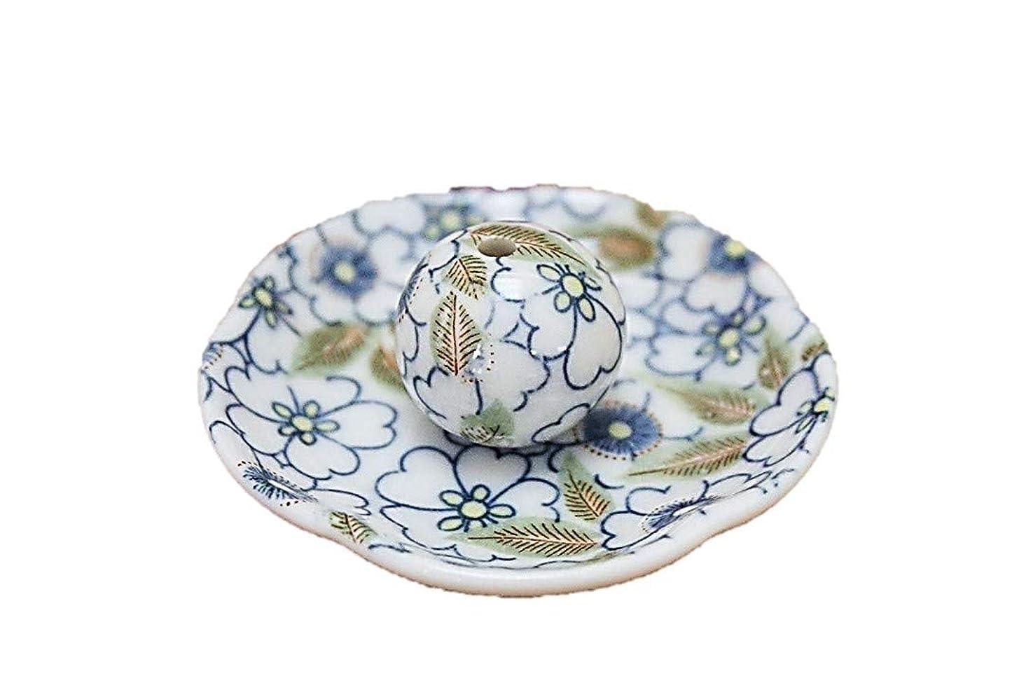医療の低下導入する藍華柳 花形香皿 お香立て お香たて 日本製 ACSWEBSHOPオリジナル