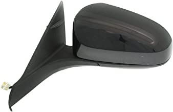 New Left Driver Side Power Door Mirror For 2016-2017 Toyota Camry, With Heated Glass, Without Blind Spot Monitor, Primed, With Flat Glass TO1320363
