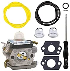 NIMTEK Quality Aftermarket Replacement Carburetor Replaces Part Number: 523012401. Fits Husqvarna: 122 HD60 2011-04, 122 HD45 2011-04 Jonsered: HT2223 T 2012-01, HT2218 2012-01 Fits Redmax: CHT220L 2012-03, CHT220 966712801, 2012-03 McCulloch: SuperL...