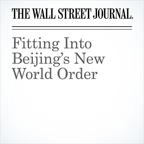 Fitting Into Beijing's New World Order copertina