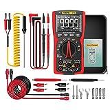 Myya Q10 Multímetro Digital 9999 Cuenta con el medidor LCR True RMS analógico DIY Transistor Capacitor NCV Tester Professional Tester