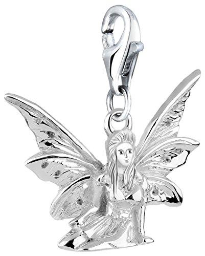 Nenalina Charm Elfe Anhänger in 925 Sterling Silber für alle gängigen Charmträger 713173-000